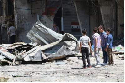 Airstrikes kill 79 civilians in Syria's Deir ez-Zour