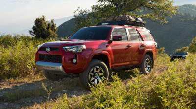 Toyota работает над обновлением полноразмерных внедорожников