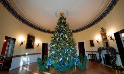Впечатляющие интерьеры новогоднего Белого дома