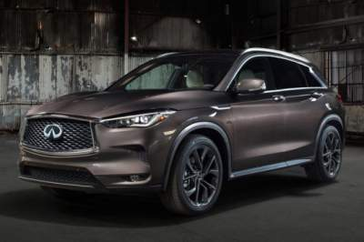 Infiniti Reveals QX50 SUV prior to LA