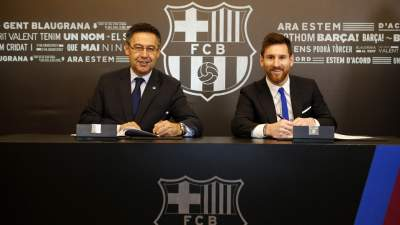 Amor: Barcelona protected with Messi release clause