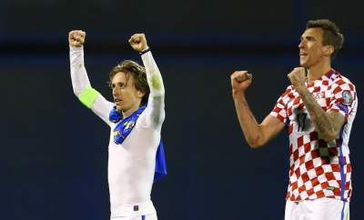 Croatia wrap up World Cup spot in Greece