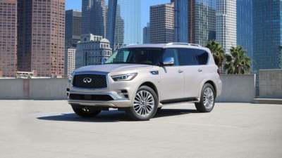 Submitted updated SUV Infiniti QX80 2018