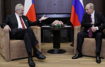 The results of the talks between Putin and Zeman