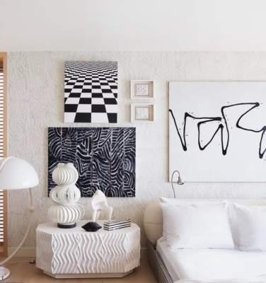 """""""Говорящие"""" стены: так выглядят спальни звезд. Фото"""