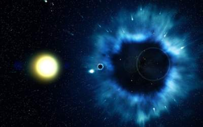 This Supermassive Black Hole Is a