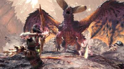 New 9 minutes of gameplay footage from Monster Hunter World