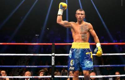 Pacquiao is ready to enter the fight with Lomachenko