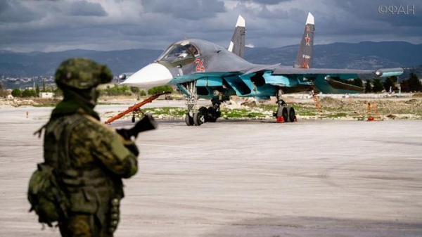 Russian airbase in Syria's Latakia attacked second time this week
