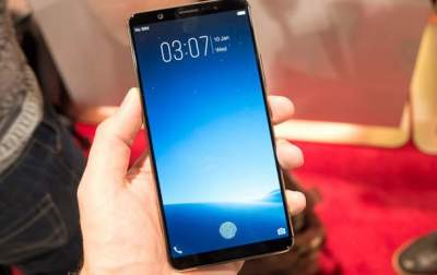 Vivo Shows Off a Phone with In-Display Fingerprint Scanner