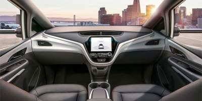 Self-Driving Chevy Bolts Jump Forward Without Steering Wheels, Pedals, & More