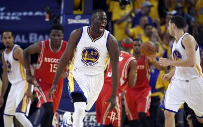 Warriors down Rockets in clash of Western powers