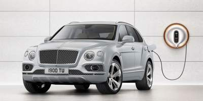 Bentley Bentayga Hybrid Plugs Into The Future At Geneva
