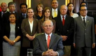 Peru vice president heading for inauguration