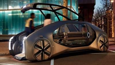 Renault EZ-GO 'robo-vehicle' concept breaks cover in Geneva