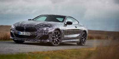 BMW 8 Series Coupe in Final Stages of Production Development