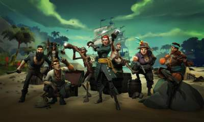There's a mess of new content coming soon to Sea of Thieves