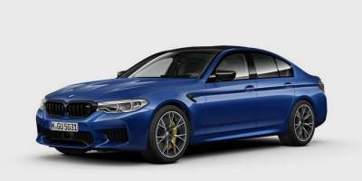 BMW M5 Competition Images Leaked - Gets 625hp