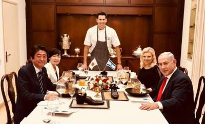 Wrong foot forward: Furore after Israel serves Japanese PM dessert in 'shoe'