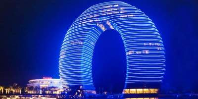 Необычные отели со всего мира для отпуска мечты. Фото