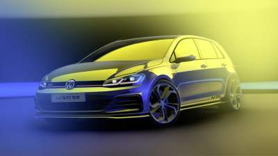 Volkswagen Golf GTI TCR Prototype to Debut in Austria
