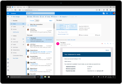 Outlook for Android updated with search-based user interface improvements