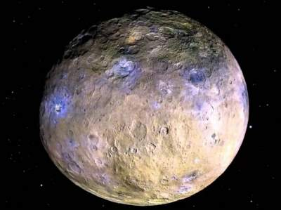 NASA probe close to the planet Ceres