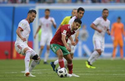 Ecstasy for Iran, agony for Morocco