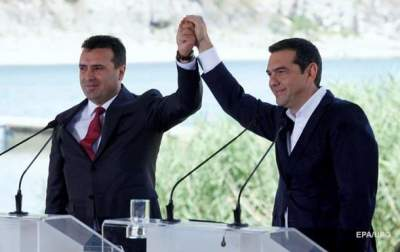 Greece, Macedonia to sign historic deal to end name row