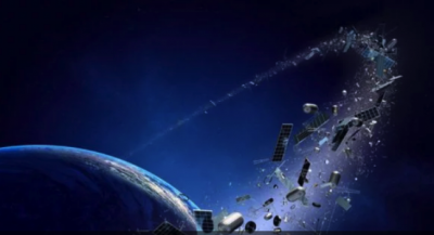 Britain-built satellite on mission to test ways to collect space junk