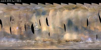 NASA's Opportunity Rover Encounters Perfect Dust Storm On Mars For Science