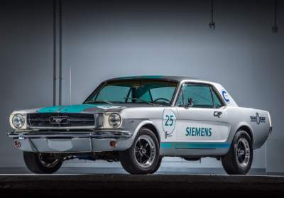 Siemens - Siemens reveals 1965 Ford Mustang as autonomous vehicle