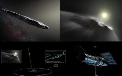 Speeding Interstellar Object 'Oumuamua is a Comet, Not an Asteroid