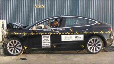 Tesla Model 3 Gets 5 Star Rating In NHTSA Crash Test