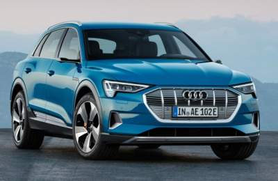 Audi E-Tron, an all-electric first SUV revealed