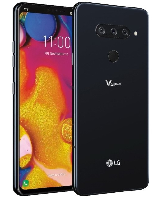 The new LG V40 ThinQ reveals itself with a nice design