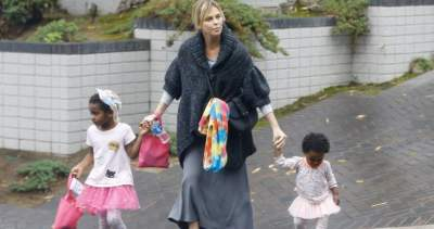 And charlize children theron Charlize Theron