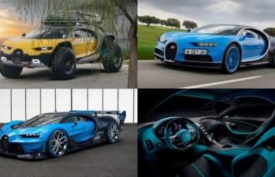 Estonian designer created the image of an SUV from Bugatti