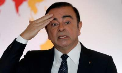 Carlos Ghosn sacked as chairman of Nissan over scandal