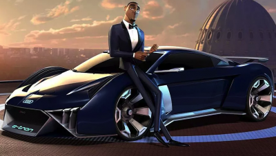 Audi gets all animated over concept auto for upcoming film