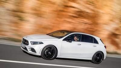 Фотошпионы показали новый Mercedes А-класса