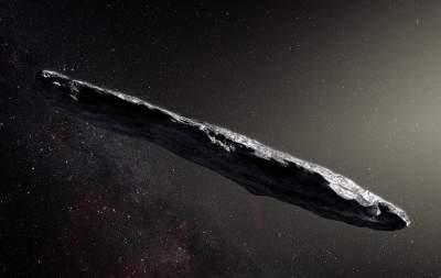 Межзвездный астероид оказался вдвое меньше