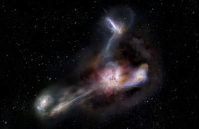 Обнаружен самый яркий объект во Вселенной