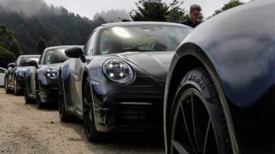 В Сети показали Porsche 911 нового поколения