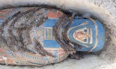 Eight Egyptian mummies uncovered in epic find at ancient site