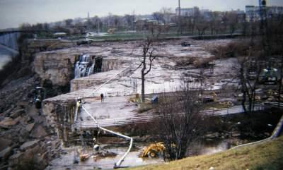 Niagara Falls Was Drained For Repair Photo Micetimes Asia
