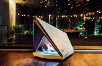 Ford's Noise-Cancelling Kennel Keeps Dogs' Ears Safe From Fireworks
