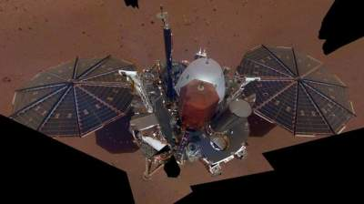 InSight lander takes its first selfie on Mars