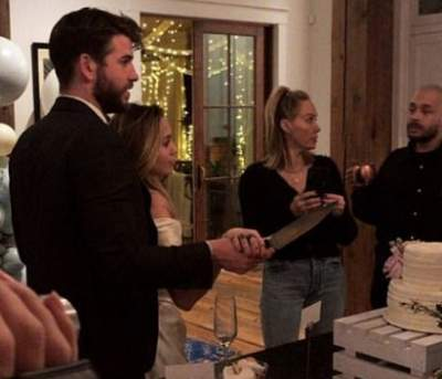 Miley Cyrus And Liam Hemsworth Appear To Get Married In New Videos