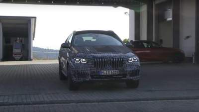 The New Bmw X6 Have Seen In Testing Micetimes Asia